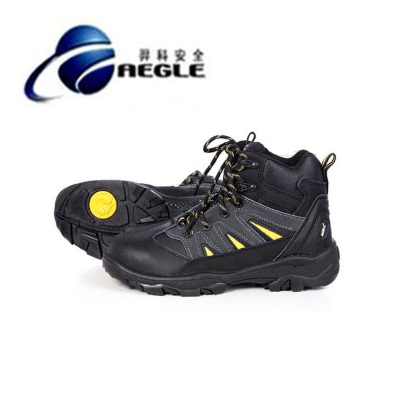 羿科安全高级户外款中帮安全鞋(防砸、防刺穿、防静电、TPU鞋底)