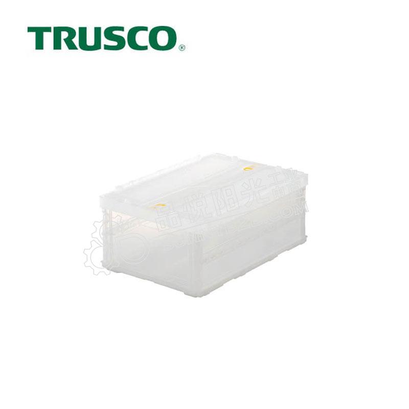 日本中山/TRUSCO 薄型可折叠收纳箱
