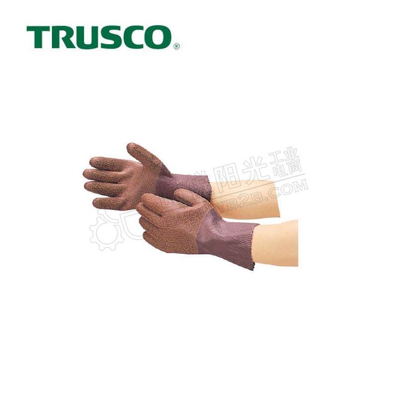 日本中山/TRUSCO 天然橡胶手套